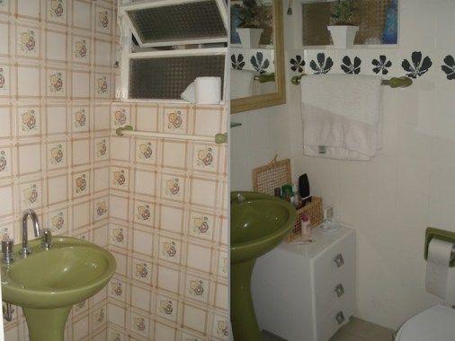 como pintar azulejos do banheiro 8