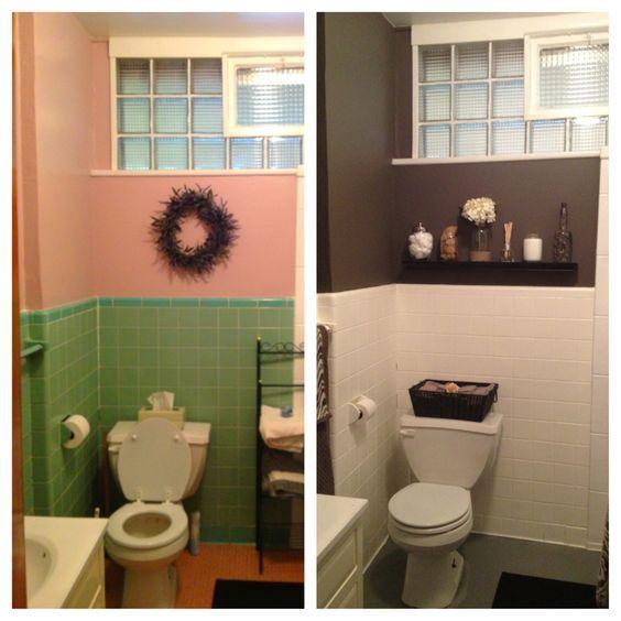 como pintar azulejos do banheiro 9