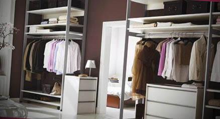 como fazer um closet quarto