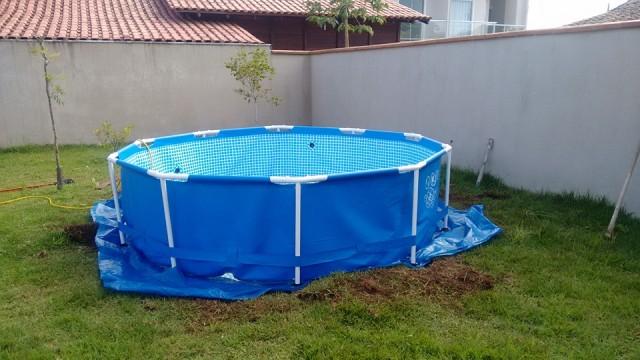 construir um deck de piscina