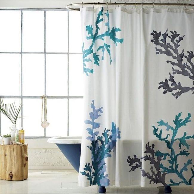 cortina de banheiro