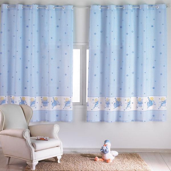 cortina quarto menino