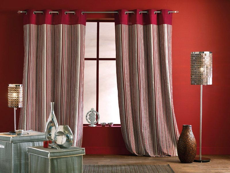 cortina tecido misto
