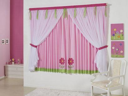 cortinas decorativas quarto tendencias