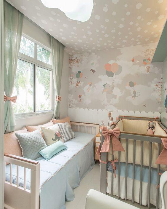 cortinas quarto bebe menina