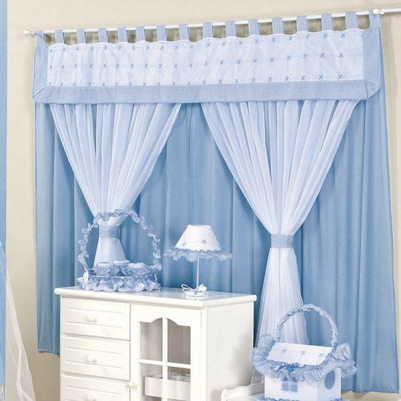 cortinas quarto bebe menino