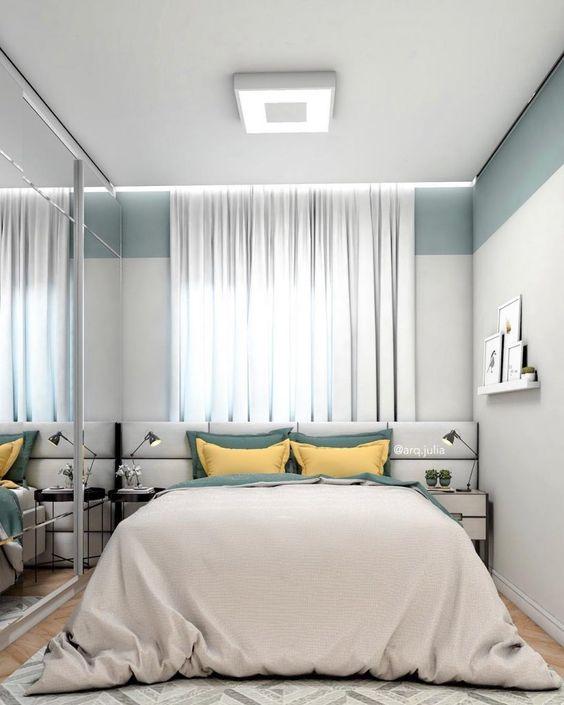 cortinas quarto casal branca