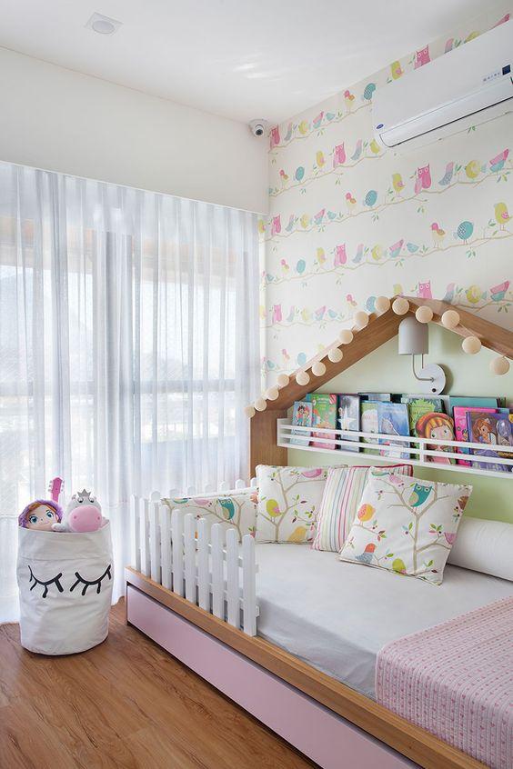 cortinas quarto infantil branca