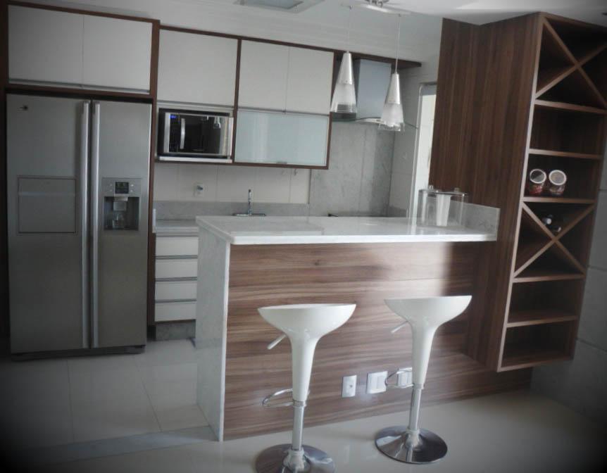 cozinha americana apartamento