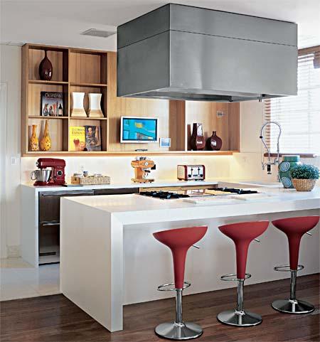 cozinha com ilha moderna1