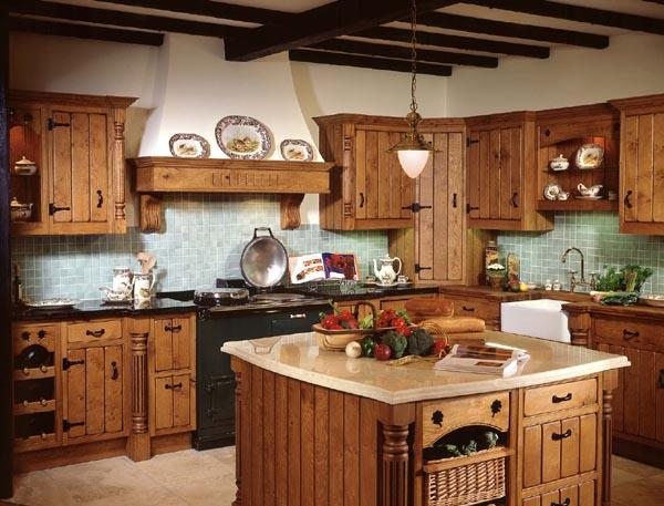 cozinha decoracao rustica
