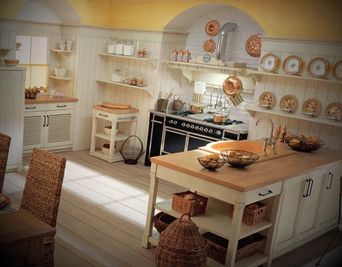 cozinha inglesa decorada