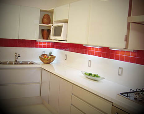 cozinha para apartamento pequeno