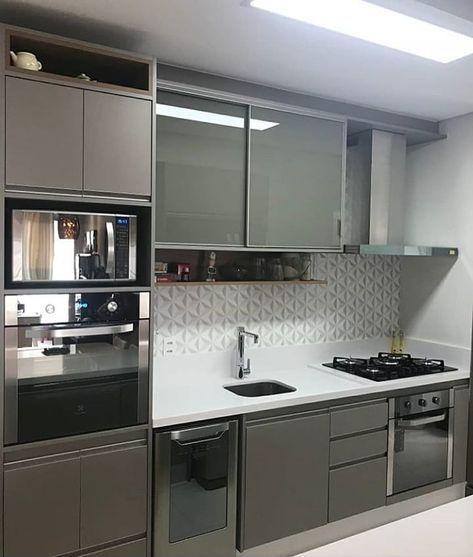 cozinha planejada apartamento pequeno 1