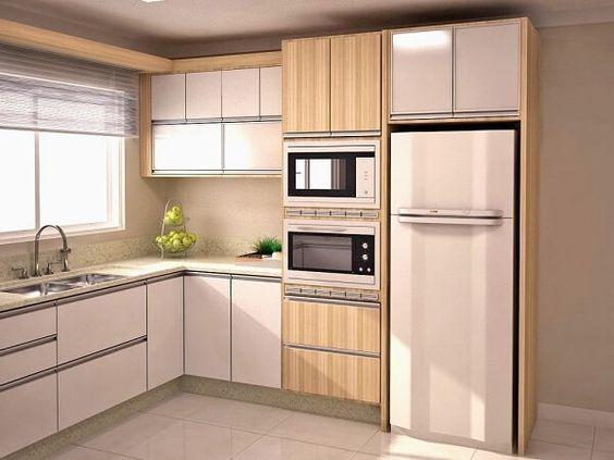 cozinha planejada l