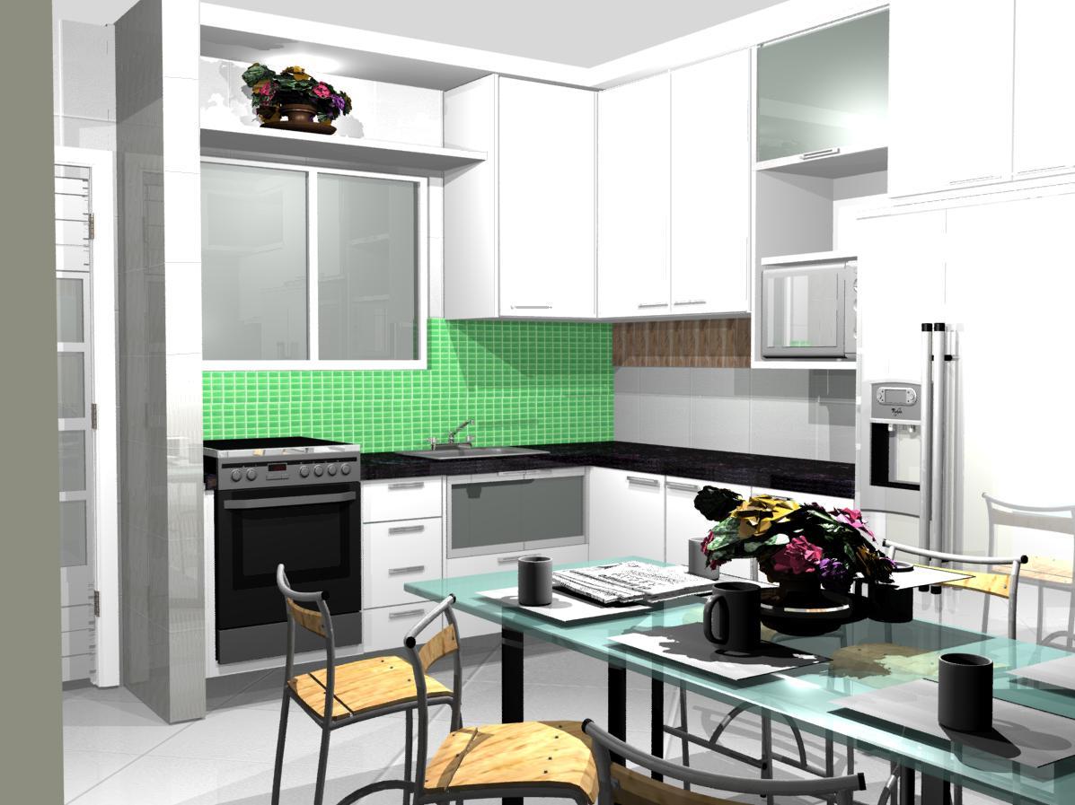 cozinha planejadas pequenas decorada americana1