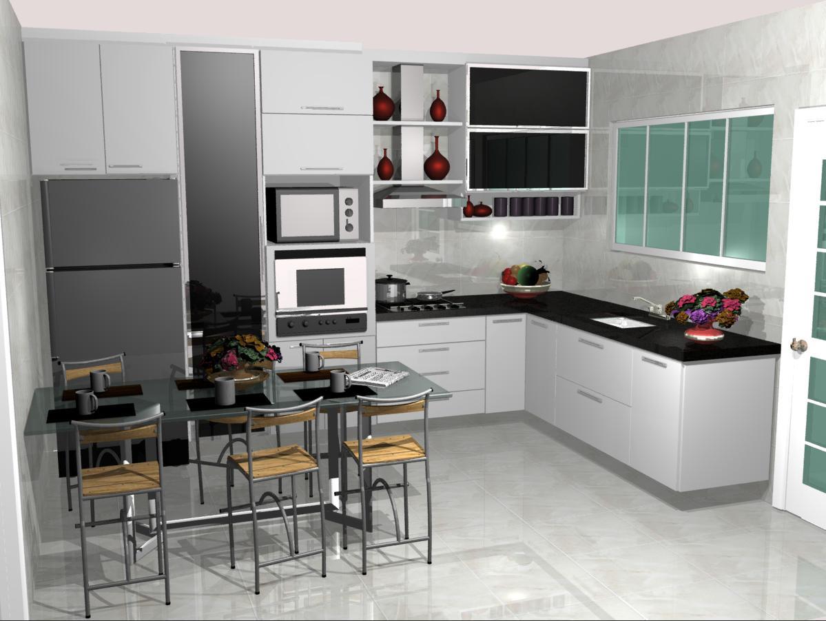 cozinha planejadas pequenas decorada