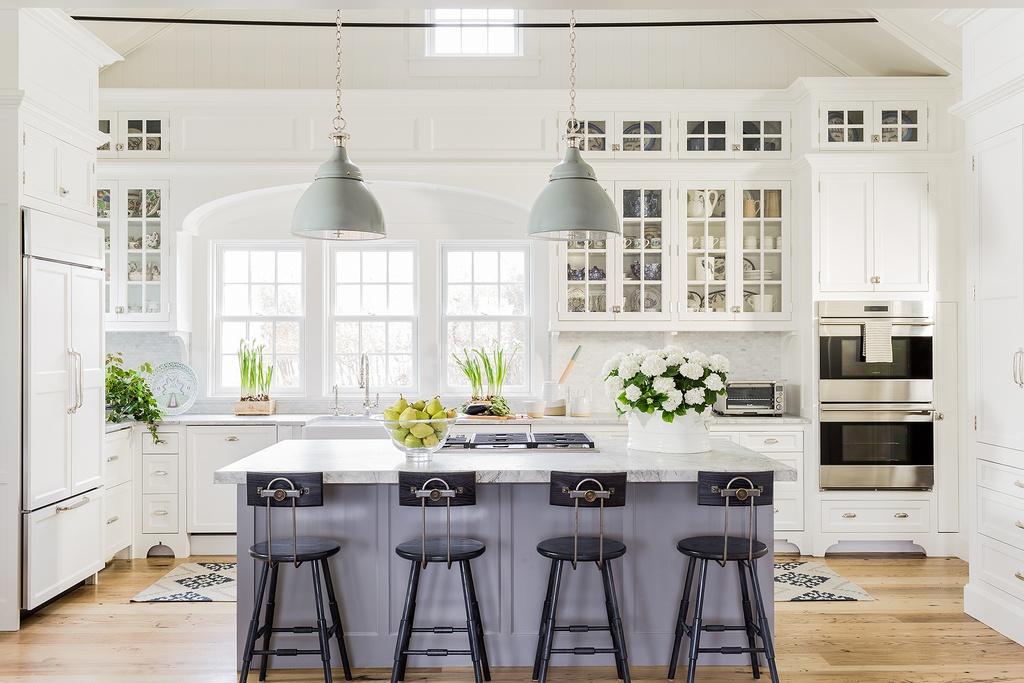 cozinha tradicional americana simples