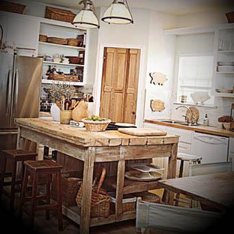 cozinha de campo