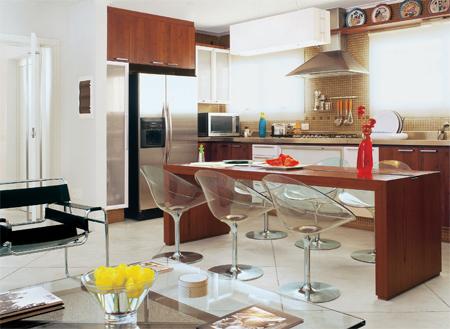 cozinhas americanas sala planejada