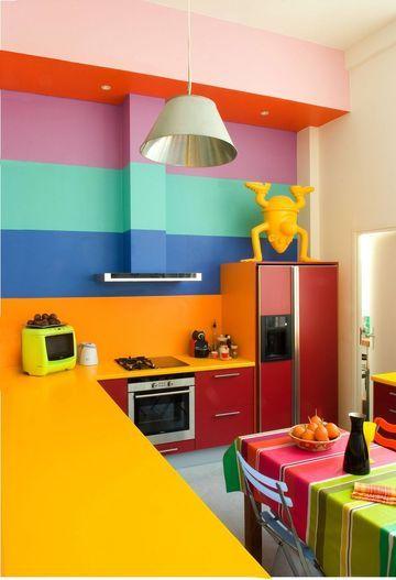 cozinhas coloridas 5