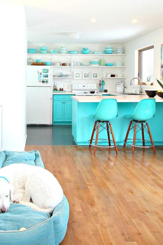 cozinhas coloridas 7