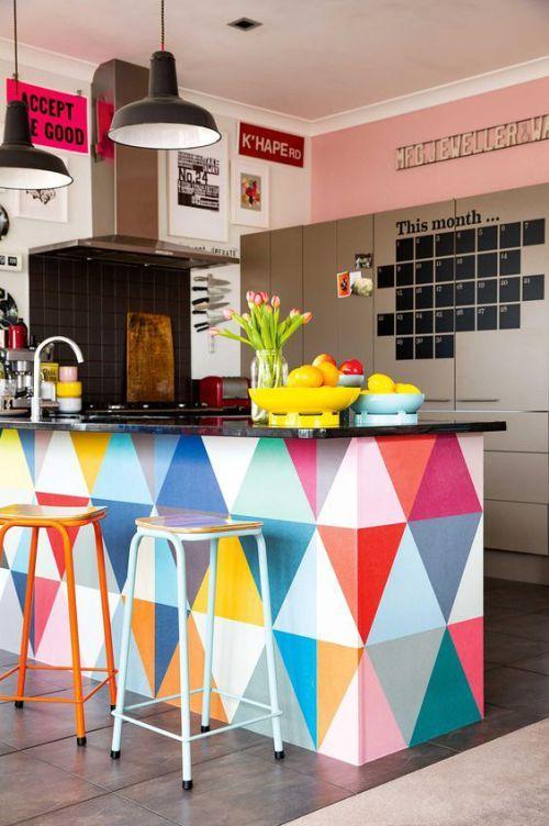 cozinhas coloridas decoracao