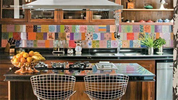 cozinhas decoradas com azulejos