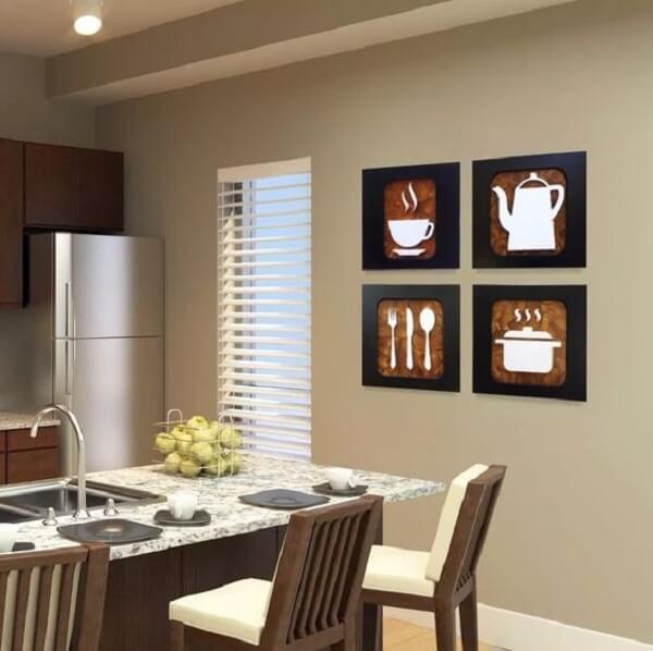 cozinhas decoradas quadros 10