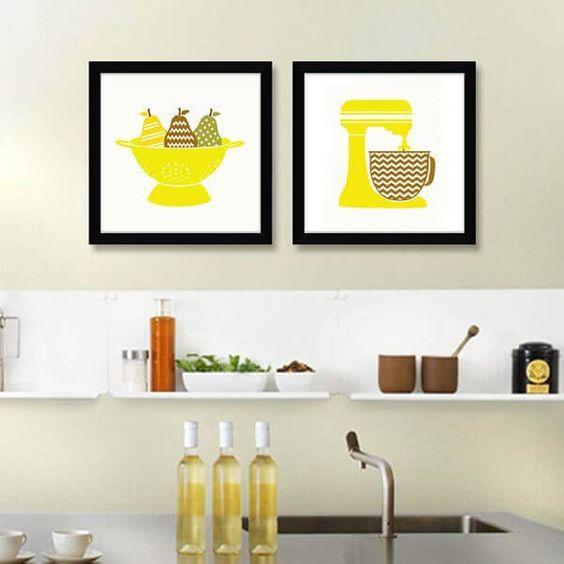 cozinhas decoradas quadros 12