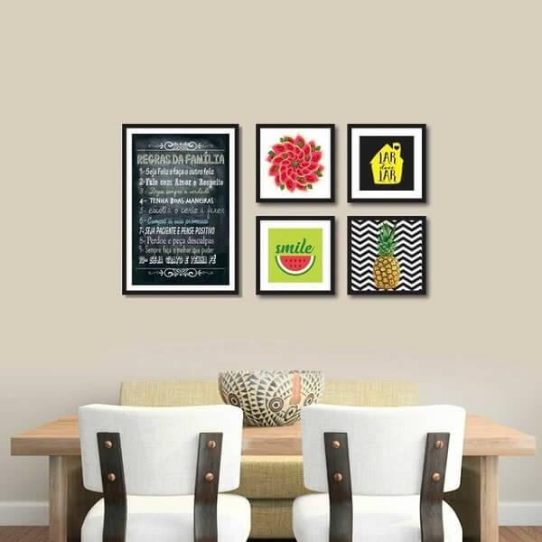 cozinhas decoradas quadros 2