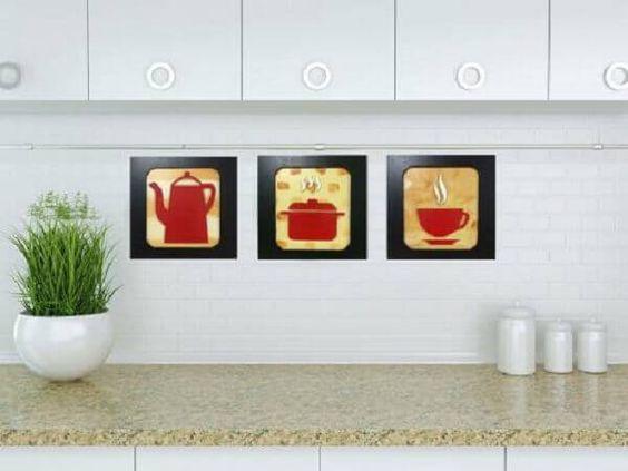 cozinhas decoradas quadros 4