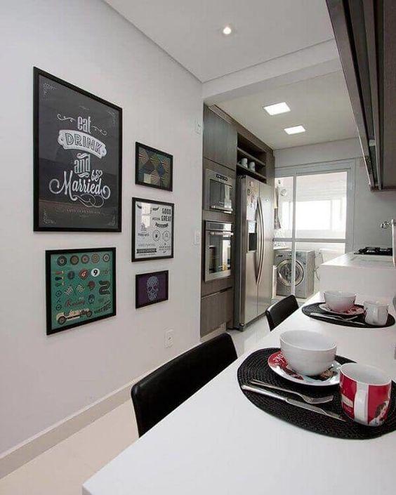 cozinhas decoradas quadros 5
