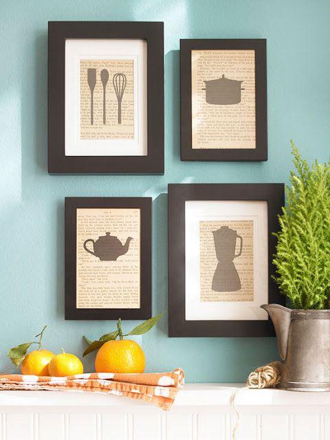 cozinhas decoradas quadros 6