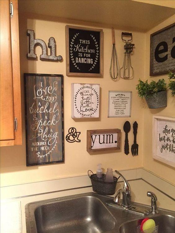 cozinhas decoradas quadros 9