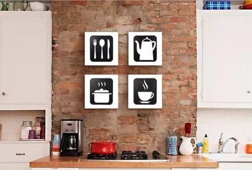 cozinhas decoradas quadros
