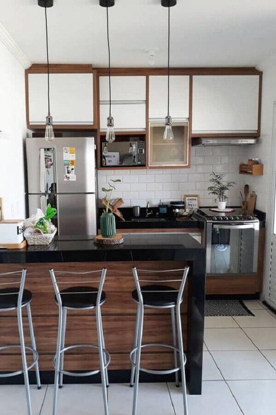 cozinhas modernas pequenas 1