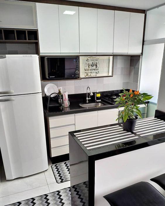 cozinhas modernas pequenas 4