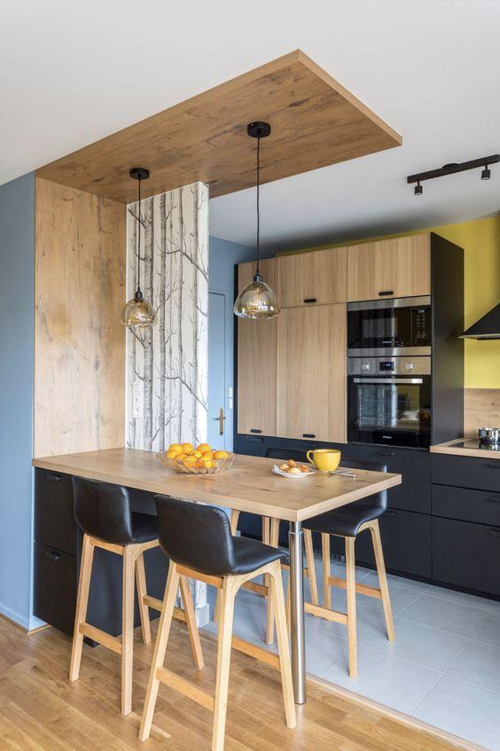 cozinhas modernas pequenas 6