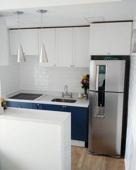 cozinhas modernas pequenas 7