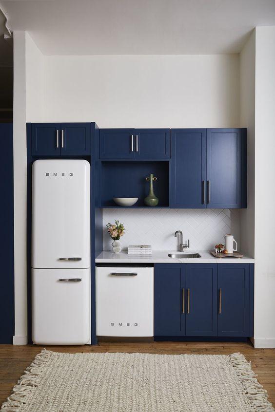 cozinhas modernas pequenas 8