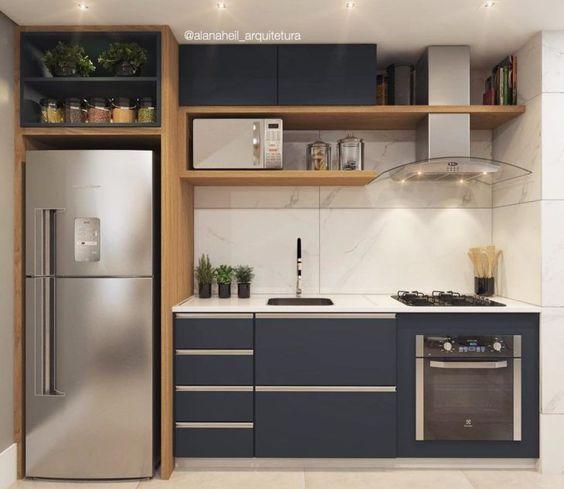 cozinhas modernas pequenas 9