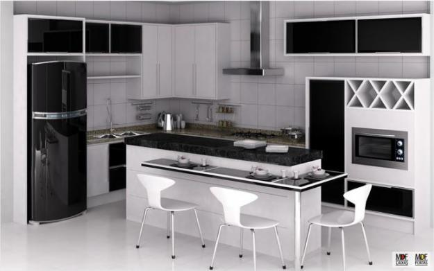 cozinhas moduladas pequena