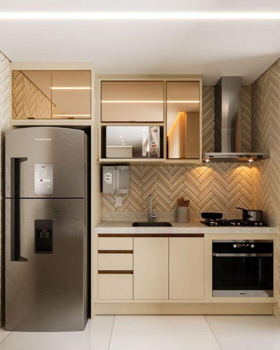 cozinhas planejadas apartamentos pequenos 1 1