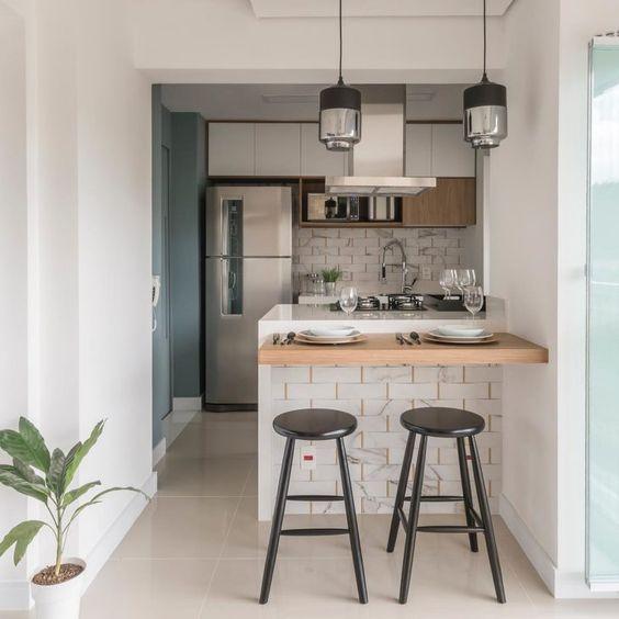 cozinhas planejadas apartamentos pequenos 10