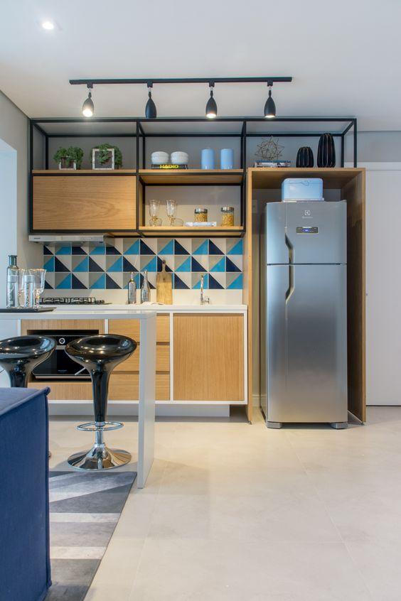 cozinhas planejadas apartamentos pequenos 2