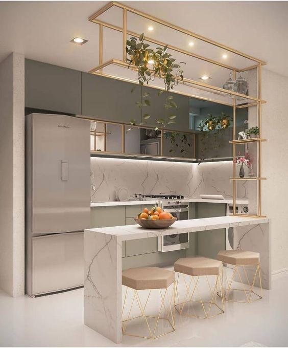 cozinhas planejadas apartamentos pequenos 6