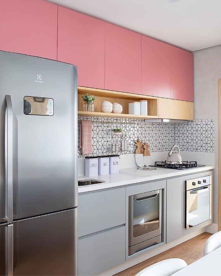 cozinhas planejadas apartamentos pequenos 7