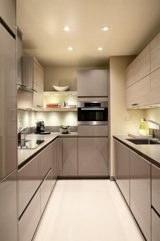cozinhas planejadas apartamentos pequenos 8