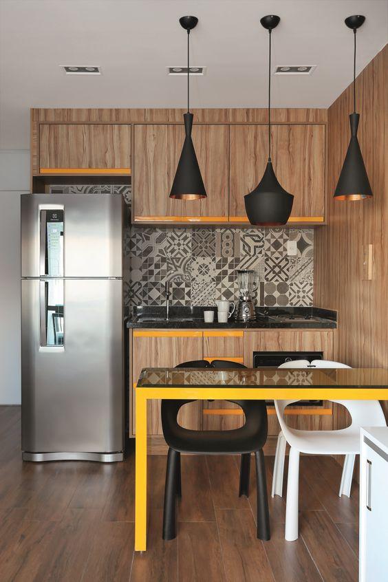 cozinhas planejadas apartamentos pequenos 9